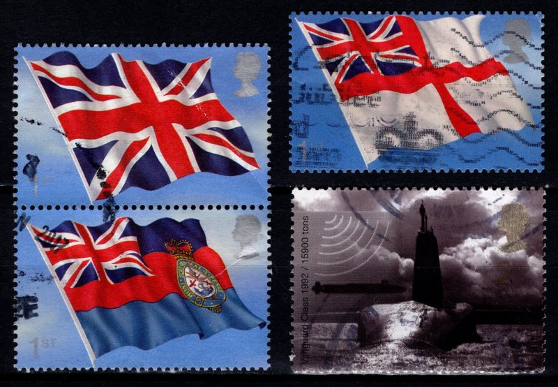 Great Britain 2001 Centenary of Royal Submarine Service Part Set [Used]