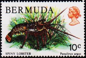 Bermuda. 1978 10c S.G.392 Mounted Mint