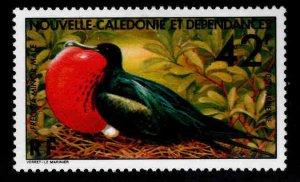 New Caledonia (NCE) Scott C138 MH* Male Frigate bird stamp