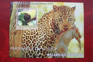 Mozambique 2002 MNH Wild Animals of Africa