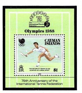 Cayman Is 601 MNH 1988 Olympics   S/S      (KA)