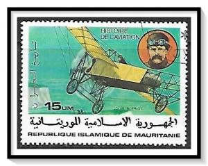 Mauritania #369 History Of Aviation CTO