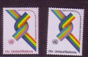 UN Sc# 272 / 273 UN Federation MNH set D