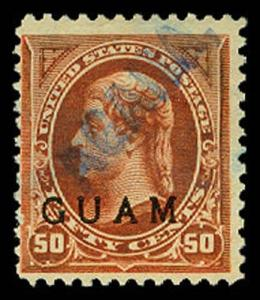 GUAM 11  Used (ID # 62397)
