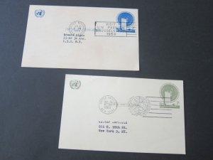 United Nations (NY) 1958,1960 Visit PC