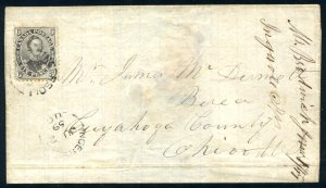 CANADA: Sc.#13a  [C]  6d. Grey Violet, OUTSTANDING, PERFECTLY CENTERED exampl...