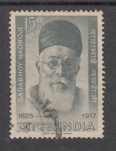 India  1963  # 376   Dadabhoy Naoroji   Used    03560   SD