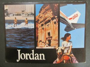 6303 Amateur Radio QSL Card Jordan