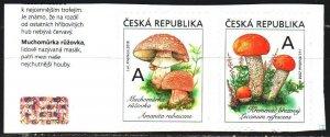 Czech Republic. 2018. 983-84. Mushrooms. MNH.