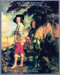 Madagascar 1999 4th.Cent.of Anton van Dyck 1599-1641 SS MNH