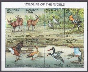 1996 Maldive Islands 2725-2732KL Fauna 11,00 €