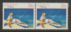 Australia SG 1179 FU  perf 14 x 14 1/2   -  horizontal pa...