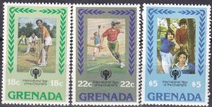Grenada #917-9 MNH CV $6.00 Z75