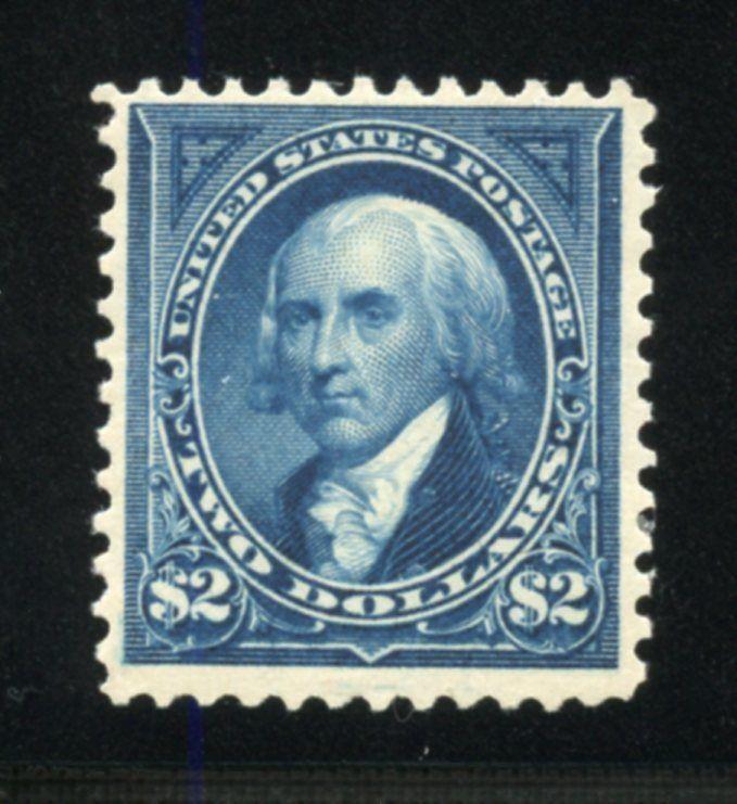 UNITED STATES SCOTT#277 $2 MADISON F/VF MINT  LH