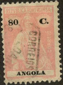 Angola, Scott #154, Used