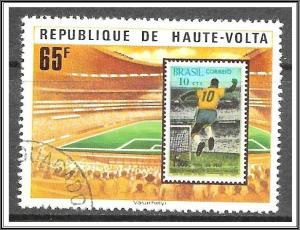 Upper Volta #457 World Cup Soccer CTO