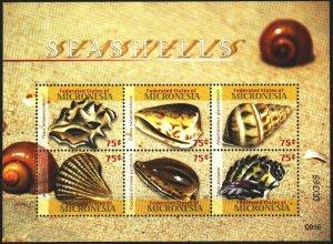 Micronesia. 2009. Small sheet 1983-88. Sinks. MNH.
