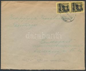 Hungary stamp Inflation cover 1946 WS238056
