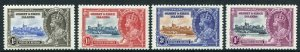 Gilbert and Ellice Is 1935 Silver Jubilee SG36/39 M/M Set
