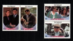 Tuvalu  389 - 390    MNH cat $4.50  aaa
