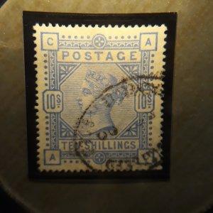 GB 109 10 shilling ultra