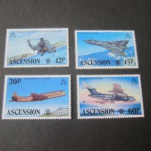 Ascension Islands 1983 Sc 332-5 set MNH