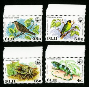 Fiji Stamps # 397-400 VF OG NH WWF