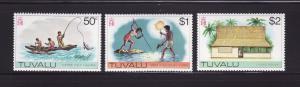 Tuvalu 34-36 MNH Various