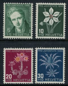 Switzerland #B158-61* NH  CV $3.75