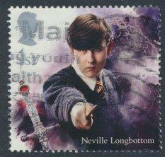 Great Britain SG 4149 Sc# 3788  Used  Harry Potter Neville Longbottom