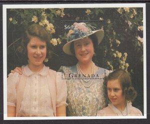 Grenada 2454 Queen Mother Souvenir Sheet MNH VF