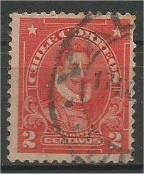 CHILE, 1911, used 2c, De Valdivia, Scott 99