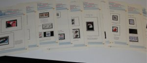 White Ace United States Stamps on Pages – All Mint NH including Express Mails