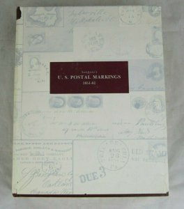 Simpson's U.S. Postal Markings 1851-61 Thomas Alexander, Great clean book