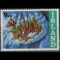 ICELAND 1972 - Scott# 446 Fishing Rights Set of 1 NH