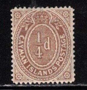 CAYMAN ISLANDS Scott # 31 MH