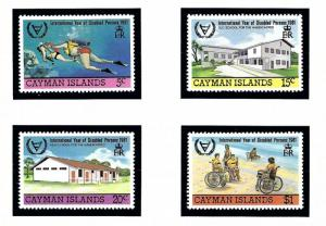 Cayman Is 474 77 MNH 1981 Intl Year of Disabled Persons
