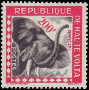 Burkina Faso #O1-O10, Complete Set(10), 1963, Animals, Never Hinged