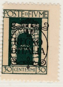 Fiume 1924 Overprint 30c Very Fine MNH** Stamp A21P11F4979