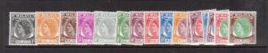 Malaya Malacca #29 - #44 VF Mint