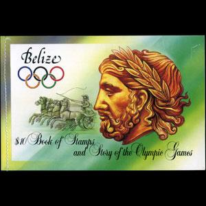 BELIZE 1984 - Scott# 721a Booklet-Olympics NH