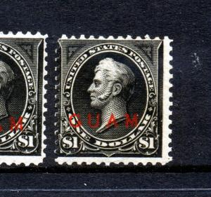 Guam Scott #12 Overprint Stamp  (Stock Guam #12-16)