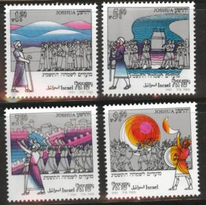 ISRAEL Scott 820-823 MNH**  1982 stamp set without tabs