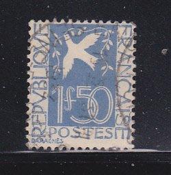 France 294 Set U Dove and Olive Branch (B)