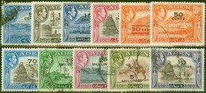 Aden 1951 Set of 11 SG36-46 Fine Used (2)