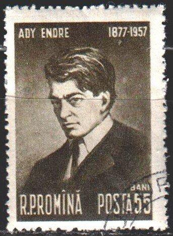 Romania. 1957. 1683. Adi, Hungarian poet. USED.