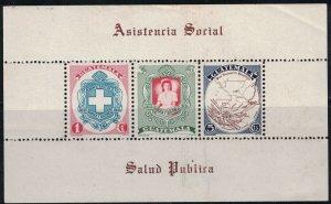 Guatemala SC337a S.S IssuedToMakePublicNatiionalHospital Fund MNH 1950