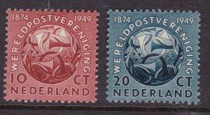 NETHERLANDS ^^^sc# 323,324    mint   hinged  < UPU >$$$@ cam1923nl