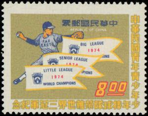 1974 Republic of China #1920-1921, Complete Set(2), Never Hinged