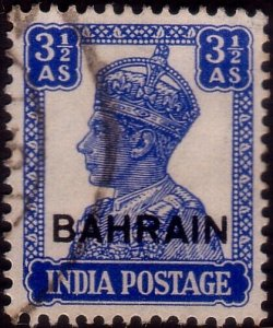 BAHRAIN 3½a GVI opt on India SG14 fine used................................45378